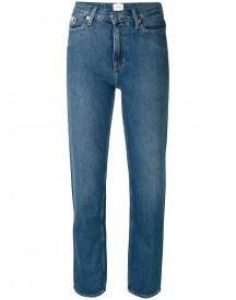 Ck Jeans - Fitted Straight Leg Jeans - Women - Cotton - 26 afbeelding