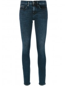Ck Jeans - Mid Rise Skinny Jeans - Women - Cotton/polyester/spandex/elastane - 28 afbeelding