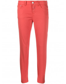 Closed Cropped Jeans - Rood afbeelding