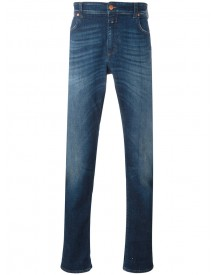 Closed - Folded Hem Tapered Jeans - Men - Cotton/polyester/spandex/elastane - 30 afbeelding