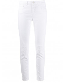 Closed Skinny Jeans - Wit afbeelding