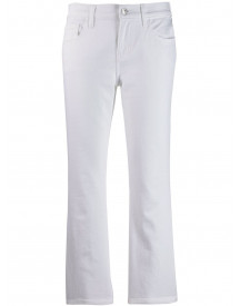 Current/elliott Cropped Jeans - Wit afbeelding