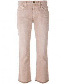 Current/elliott - Cropped Jeans - Women - Cotton/lyocell - 30 afbeelding