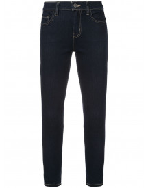 Current/elliott Cropped Skinny Jeans - Blauw afbeelding