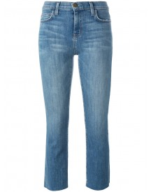 Current/elliott - Skinny Cropped Jeans - Women - Cotton/polyester/polyester - 25 afbeelding