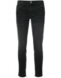 Current/elliott - Skinny Cropped Jeans - Women - Cotton/spandex/elastane - 27 afbeelding