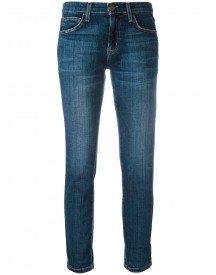 Current/elliott - Straight Cropped Jeans - Women - Cotton/polyester/spandex/elastane - 25 afbeelding