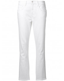 Current/elliott Straight Jeans - Wit afbeelding