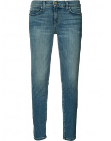 Current/elliott - Super Skinny Cropped Jeans - Women - Cotton/spandex/elastane - 30 afbeelding