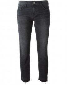 Current/elliott - 'the Cropped' Jeans - Women - Cotton/spandex/elastane - 30 afbeelding