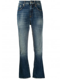Department 5 High-rise Flared Jeans - Blauw afbeelding