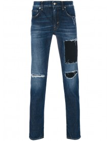 Department 5 - Mike Distressed Jeans - Men - Cotton/spandex/elastane - 29 afbeelding