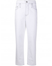 Department 5 Straight Jeans - Wit afbeelding