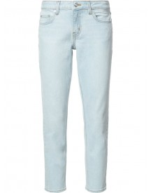 Derek Lam 10 Crosby - Devi Mid-rise Authentic Skinny Jeans - Women - Cotton/elastodiene - 30 afbeelding