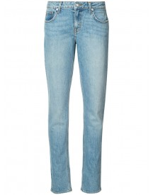 Derek Lam 10 Crosby - Mila Mid-rise Slim Girlfriend Jeans - Women - Cotton/spandex/elastane - 23 afbeelding