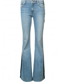 Derek Lam 10 Crosby - Noha Mid-rise Sexy Flare Jeans - Women - Cotton/spandex/elastane - 27 afbeelding