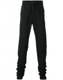 Diesel Black Gold - Drawstring Slim-fit Jeans - Men - Cotton/polyester/spandex/elastane - 31 afbeelding