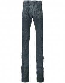 Diesel Black Gold - Elongated Distressed Jeans - Men - Cotton/polyester/spandex/elastane - 30 afbeelding