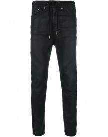 Diesel Black Gold - Side Stripe Drop-crotch Trousers - Men - Cotton/nylon/polyester/spandex/elastane - 32 afbeelding