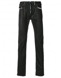 Diesel Black Gold - Type-2510 Jeans - Men - Cotton/calf Leather/spandex/elastane - 29 afbeelding