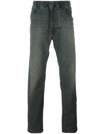 Diesel - Drawstring Loose-fit Jeans - Men - Cotton/polyester/spandex/elastane - 28 afbeelding