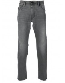 Diesel - Faded Raw Edge Jeans - Men - Cotton/spandex/elastane - 30 afbeelding