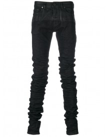 Diesel - Gathered Skinny Jeans - Men - Cotton/polyester/spandex/elastane - 32 afbeelding