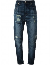 Diesel - High Rise Cropped Jeans - Women - Cotton/polyester/spandex/elastane - 31/32 afbeelding