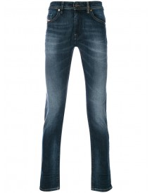 Diesel - Regular Jeans - Men - Cotton/polyester/spandex/elastane - 31 afbeelding