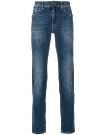 Dolce & Gabbana - Comfort Fit Stretch Jeans - Men - Cotton/calf Leather/spandex/elastane - 56 afbeelding