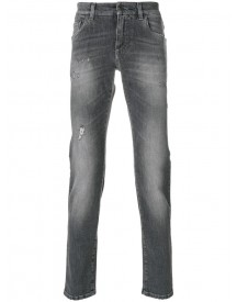Dolce & Gabbana - Distressed Jeans - Men - Cotton/polyurethane - 54 afbeelding