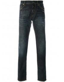Dolce & Gabbana - Distressed Jeans - Men - Cotton/spandex/elastane - 54 afbeelding