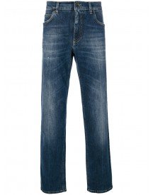 Dolce & Gabbana - Faded Jeans - Men - Cotton/spandex/elastane - 50 afbeelding