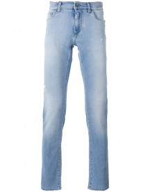 Dolce & Gabbana - Palm Embroidered Jeans - Men - Cotton/spandex/elastane - 50 afbeelding