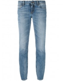Dolce & Gabbana - Slim-fit Cropped Jeans - Women - Cotton - 38 afbeelding