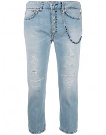 Dondup - Cropped Jeans - Women - Cotton - 26 afbeelding