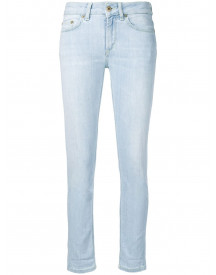 Dondup Cropped Skinny Jeans - Blauw afbeelding