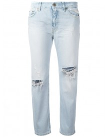 Dondup - Distressed Cropped Jeans - Women - Cotton/polyester - 30 afbeelding
