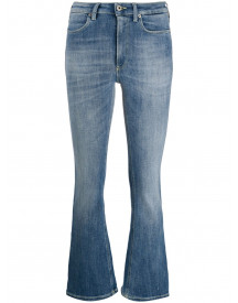 Dondup Cropped Jeans - Blauw afbeelding