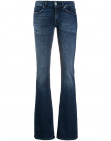 Dondup Bootcut Jeans - Blauw afbeelding