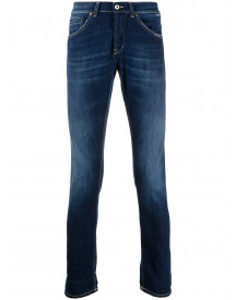Dondup Slim-fit Jeans - Blauw afbeelding