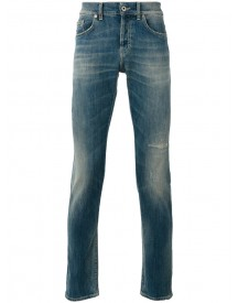 Dondup - Ripped Detail Tapered Jeans - Men - Cotton/polyester - 34 afbeelding