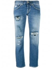 Dondup - 'segolene' Distressed Jeans - Women - Cotton - 28 afbeelding