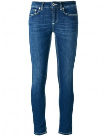 Dondup - Skinny Jeans - Women - Cotton/polyester/spandex/elastane - 25 afbeelding