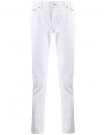 Dondup Slim-fit Jeans - Wit afbeelding