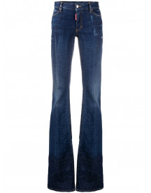 Dsquared2 Bootcut Jeans - Blauw afbeelding