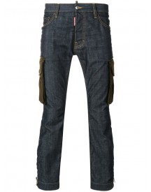 Dsquared2 - Cargo Pocket Jeans - Men - Cotton/spandex/elastane - 50 afbeelding