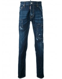 Dsquared2 - Classic Skinny Jeans - Men - Cotton - 54 afbeelding