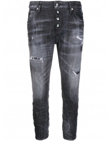Dsquared2 Cool Girl Cropped Jeans - Zwart afbeelding