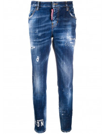 Dsquared2 Cool Girl Jeans - Blauw afbeelding